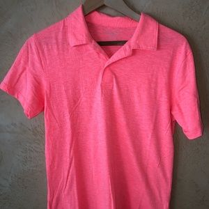 PLACE Pink Boy's Polo Shirt (Size 14)